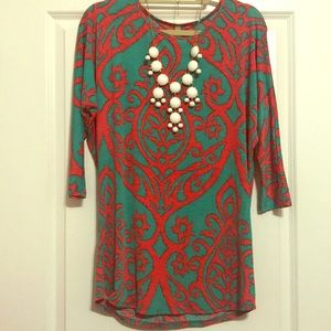 Tops - Patterned tunic